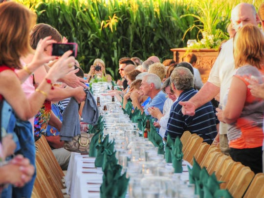 """Each August, Bloomsbury Farm holds a """"Cuisine in the"""
