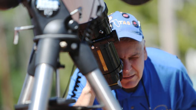Tallahassee Astronomical Society gave residents a rare look at the daytime sky during an event at Cascades Park in 2015. Residents can now check out telescopes from the LeRoy Collins Leon County Public Library.