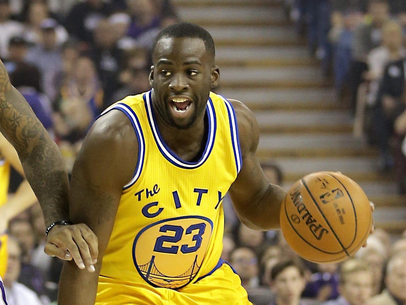 Golden State Warriors forward Draymond Green.