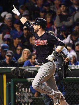 Jason Kipnis' three-run homer broke open the game in the seventh.