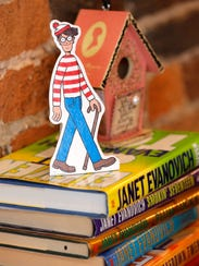 A figure of Waldo from the popular Where's Waldo book