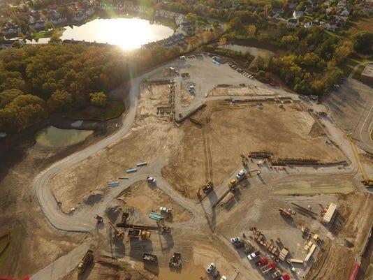 Forest Park Middle School construction