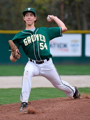 Senior southpaw Max Novick is one of the top pitchers this season for Birmingham Groves head coach Shawn Morrison.