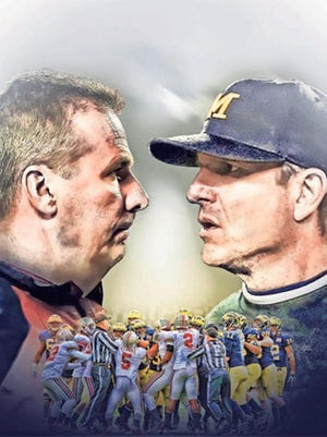 Urban Meyer and Jim Harbaugh are now in charge of one of the nation's most captivating rivalries.