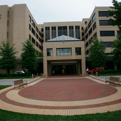 The Greenville Memorial Hospital campus