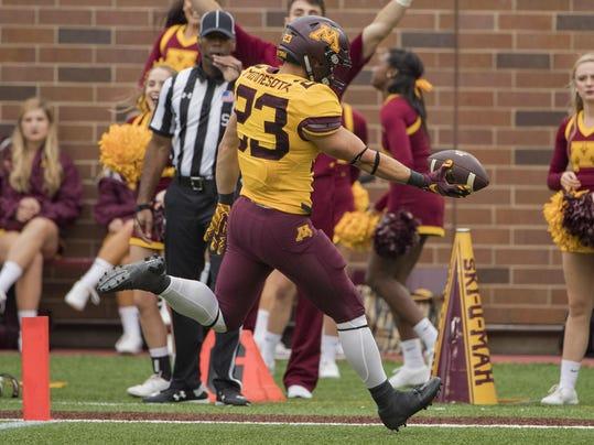 NCAA Football: Colorado State at Minnesota