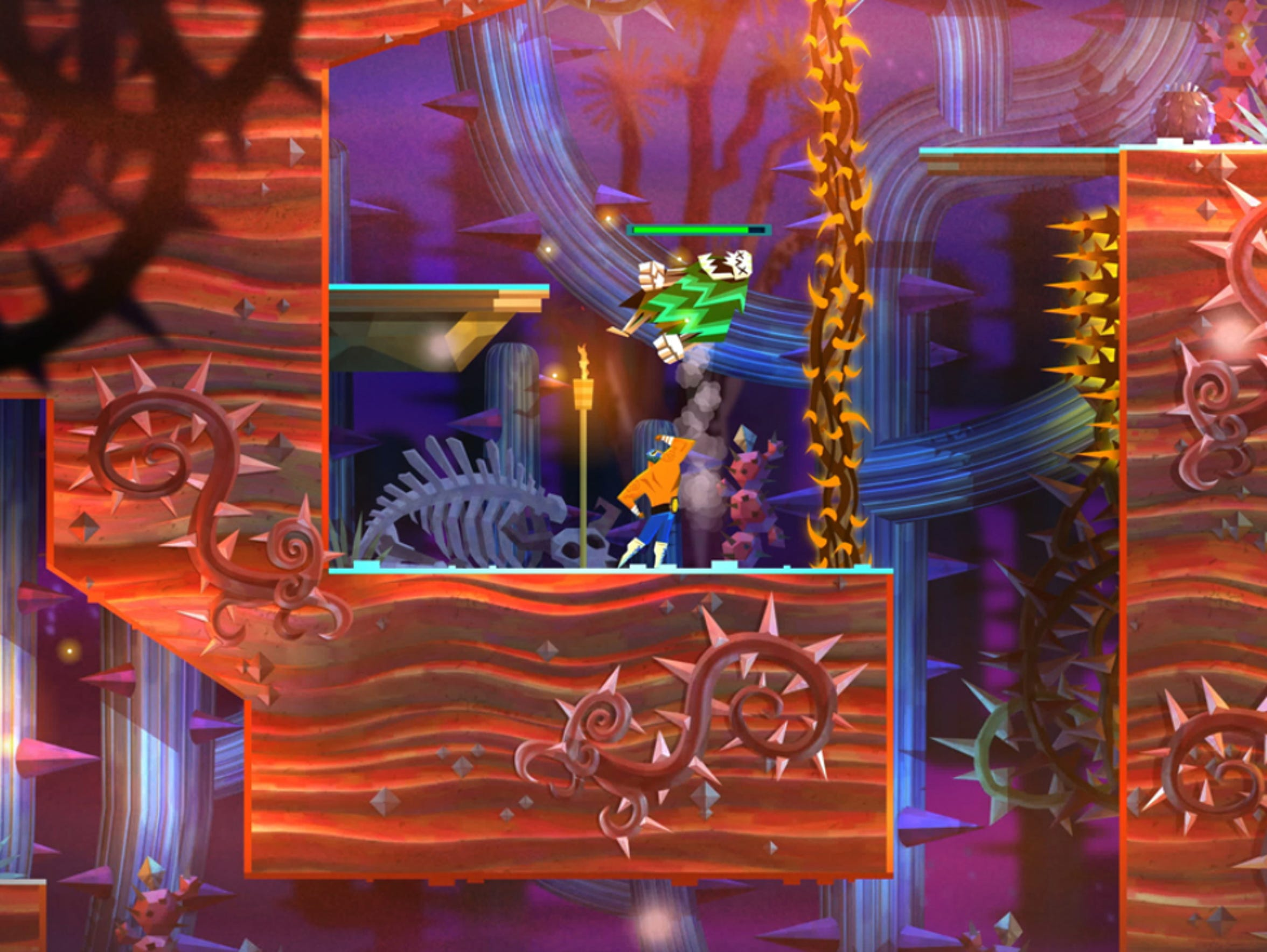 Guacamelee 2 for PC and PS4.