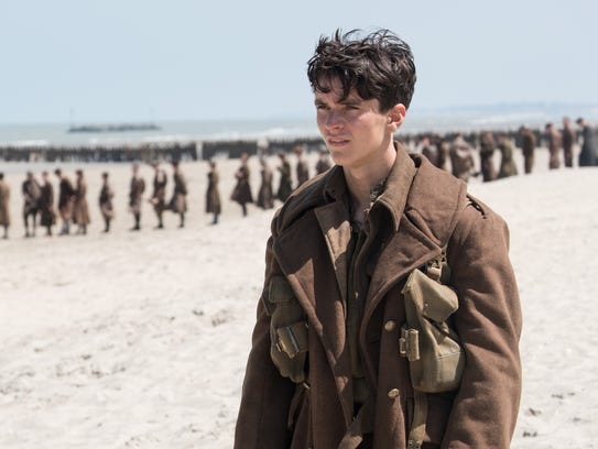 Fionn Whitehead plays a British private named Tommy