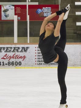 Elena Pulkinen of Chandler and her brother Camden will compete at the U.S. Figure Skating Championships in St. Paul, Minn.