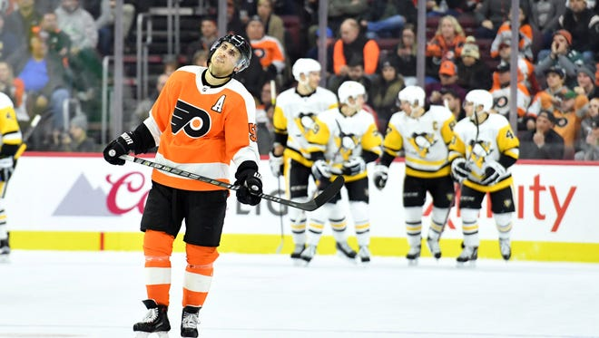 After falling short against Pittsburgh, the Flyers are winless in four straight games.