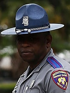 This is a file photo of a Mississippi Highway Patrol trooper.