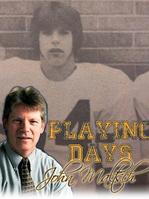 John Maltsch looks back at his playing days at Pewaukee High School.