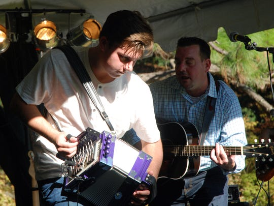 Cameron Dupuy and the Cajun Troubadours on the Anniversary