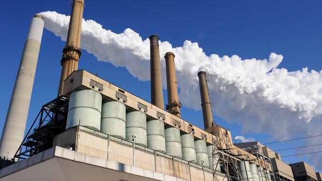 American Electric Power's Conesville Plant in Coshocton County is one of four plants included in a proposal to charge customers a rider to keep the plants operating. The state on Wednesday rejected a similar proposl for another AEP plant.
