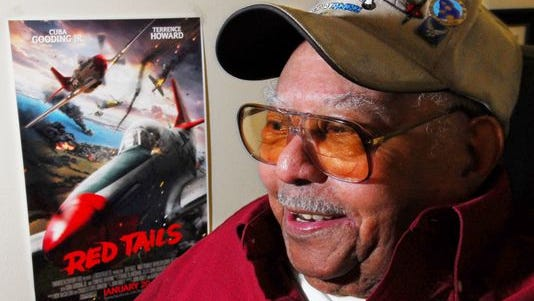 Titusville's Hiram Mann was a pilot with the Tuskegee Airmen.