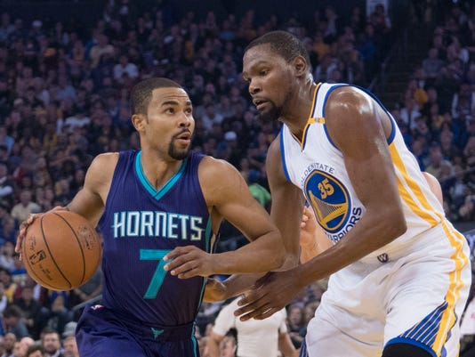 NBA: Charlotte Hornets at Golden State Warriors