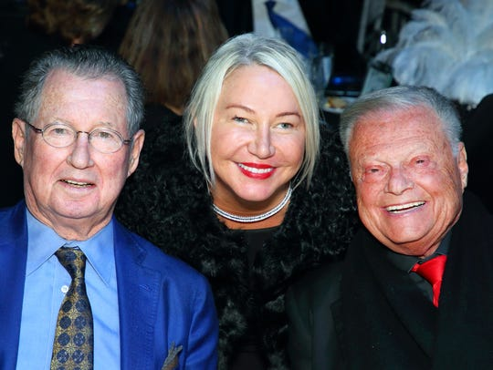Honorees Jack and Patti Grundhofer with Harold Matzner
