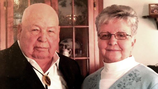 Charles L. and Raeanna Grumbine of Richland celebrated their 60th wedding anniversary. They were married January 29, 1956 by Rev. Todd.