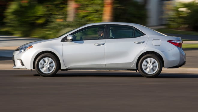 Toyota Corolla will be built in a new $1 billion Mexico factory using new Toyota architecture to make the 2020 Corolla more appealing that current model. A 2014 Corolla is pictured.