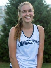 Hope Sprecher, Chambersburg girls tennis