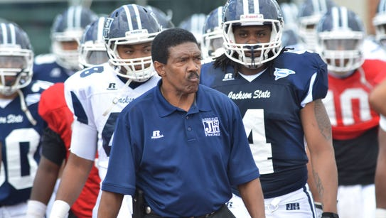Jackson State coach Harold Jackson was fired on Tuesday