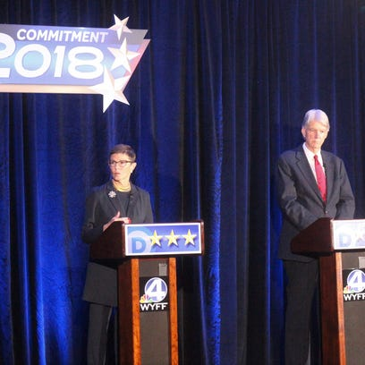 Smith skips televised Democratic debate for governor at Furman University