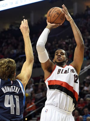 LaMarcus Aldridge scored a game-high 20 points for the Blazers.