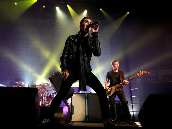 Jane's Addiction perform at Veterans Memorial Coliseum