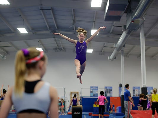 GPG ES Air Force Gymnastics 2.24.16