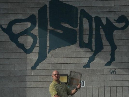 Daniel Clasby with Bison 2010