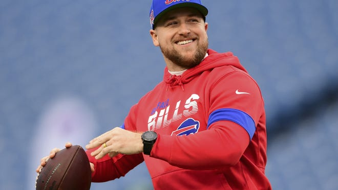 Matt Barkley has seen spot duty for the Bills as a backup quarterback and the coaching staff reiterated its confidence in him for this season.