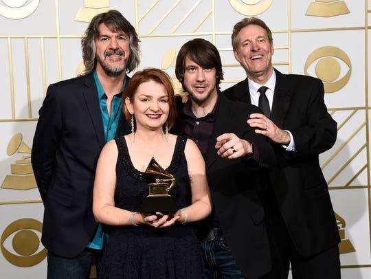 The SteelDrivers — Brent Truitt (from left), Tammy