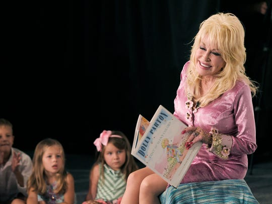 "After 20 years of making sure children have access to free books through her Imagination Library, Dolly Parton released her first children's album ""I Believe in You"" in October."