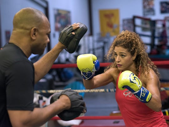 Ikram Kerwat, who is being trained by Roy Jones Jr., will join him as part of the fight card on Island Fights 46 on Feb. 8 at the Pensacola Bay Center. She will be on the undercard that leads into Jones' main event for his likely final fight.