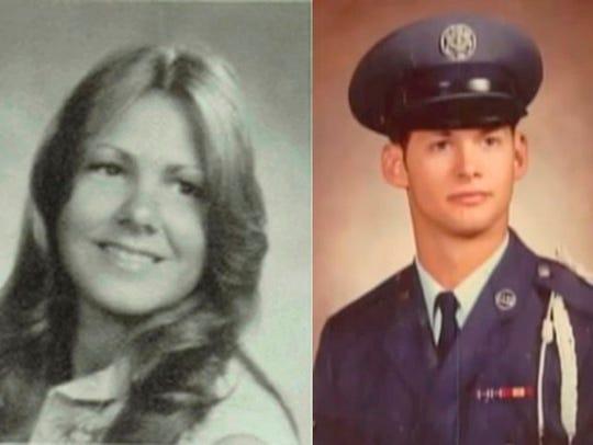 Katie Maggiore and her husband, Brian Maggiore, were