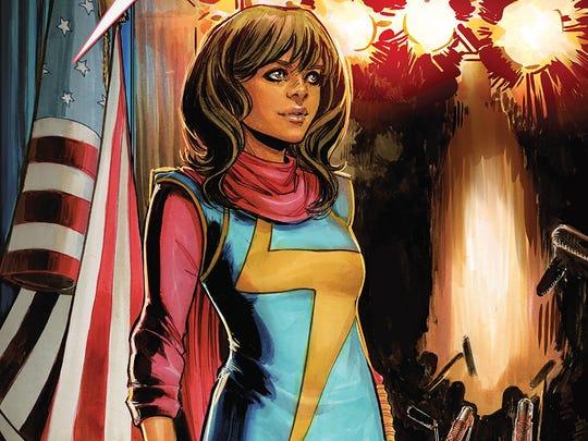 Kamala Khan is a Pakistani-American teen who's one of Marvel's newest fan favorites.