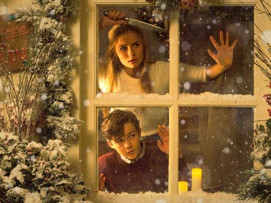 "What's outside? In ""Better Watch Out,"" Luke (Levi Miller)"