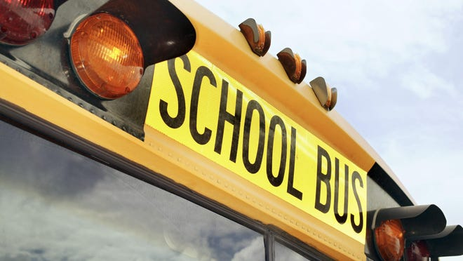 A file photo of a school bus.