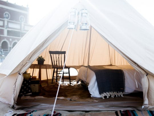 Wanderland is a curated popup hotel located in New