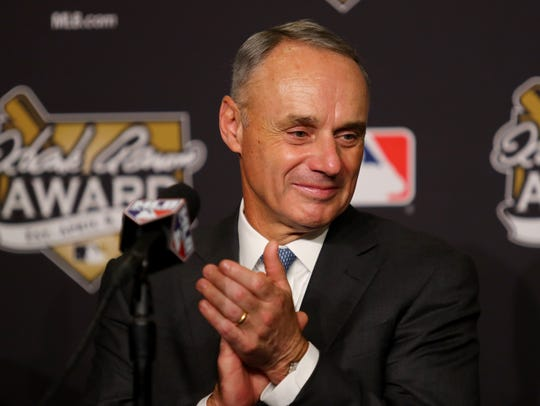 Major League Baseball Commissioner Robert D. Manfred