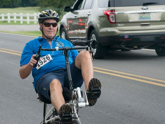 Montgomery Lions Club held its annual Cycling for Sight