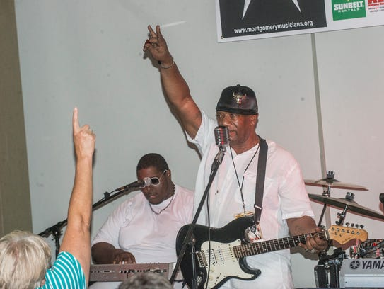 The group Funk Nation is one of five bands that played