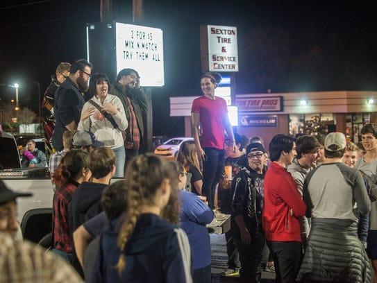 Dozens gathered Sunday night in Montgomery on Zelda