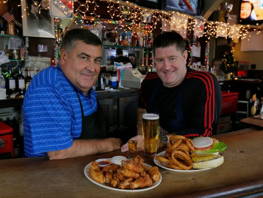 Bobby and Kevin Yannotta, brothers and owners of Zagursky's