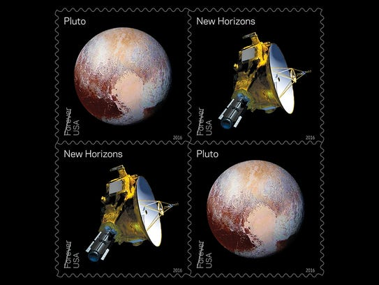 """Pluto-Explored!"" celebrates the fly-by of the New"