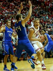 Max Bielfeldt's play has improved with a move to the bench.