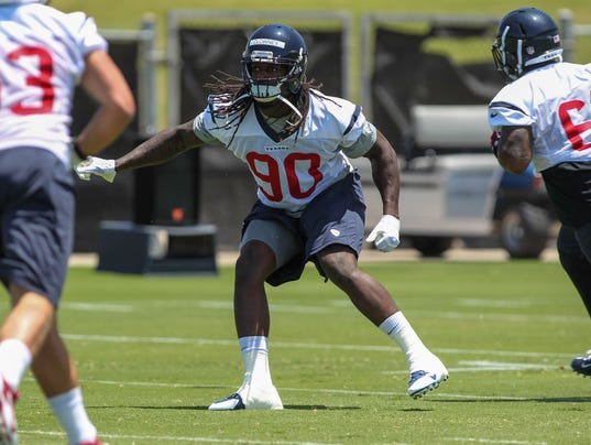 Houston Texans linebacker Jadeveon Clowney