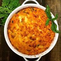 Make it as easy as cheesy spaghetti pie