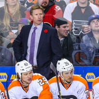 Flyers rookie head coach Dave Hakstol hasn't exactly had a smooth ride in the first two months of his NHL career.