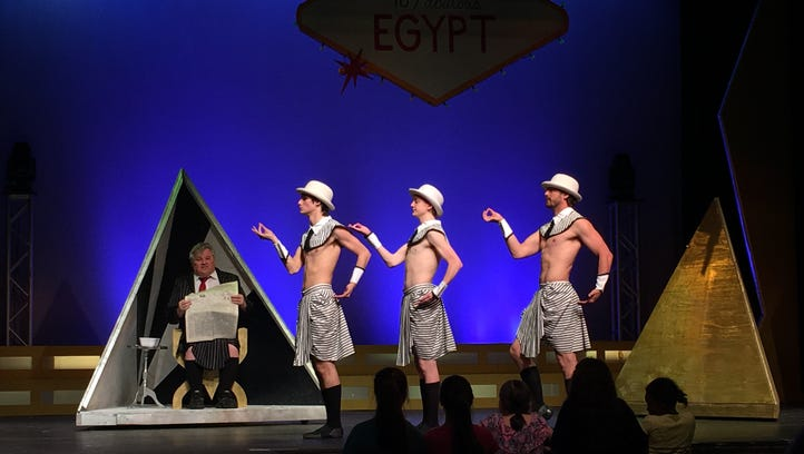 """Stage Center's """"Joseph and the Amazing Technicolor Dreamcoat """"March 23-April 1 at Emmett Hook Center."""